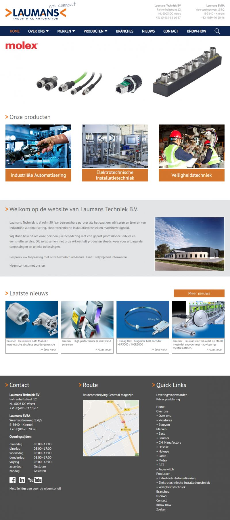 Laumans industrial automation